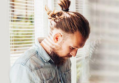 Grau gefärbte haare mann Naturhaarfarbe wiederbekommen: