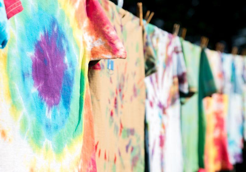 Seamless Tie Dye Pattern Of Indigo Color 10