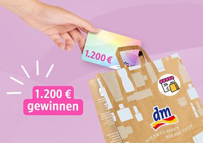 Mit Express-Abholung bestellen & mit etwas Glück 1.200 € dm-Gutschein gewinnen