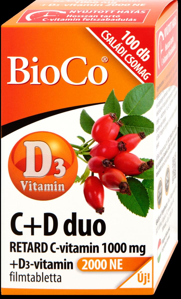 BioCo C+D Duo tabletta (100db)