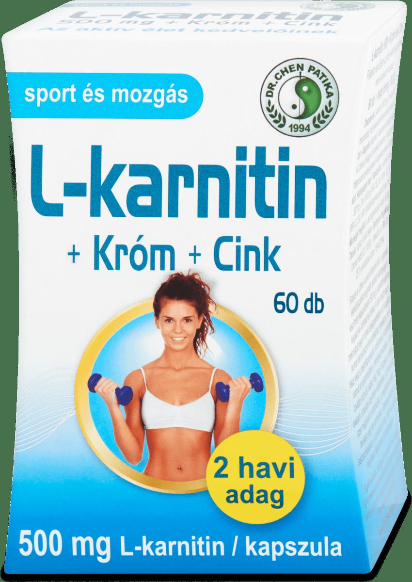 L-Carnitin + Chrome kapszula, hölgyeknek - BioTechUSA