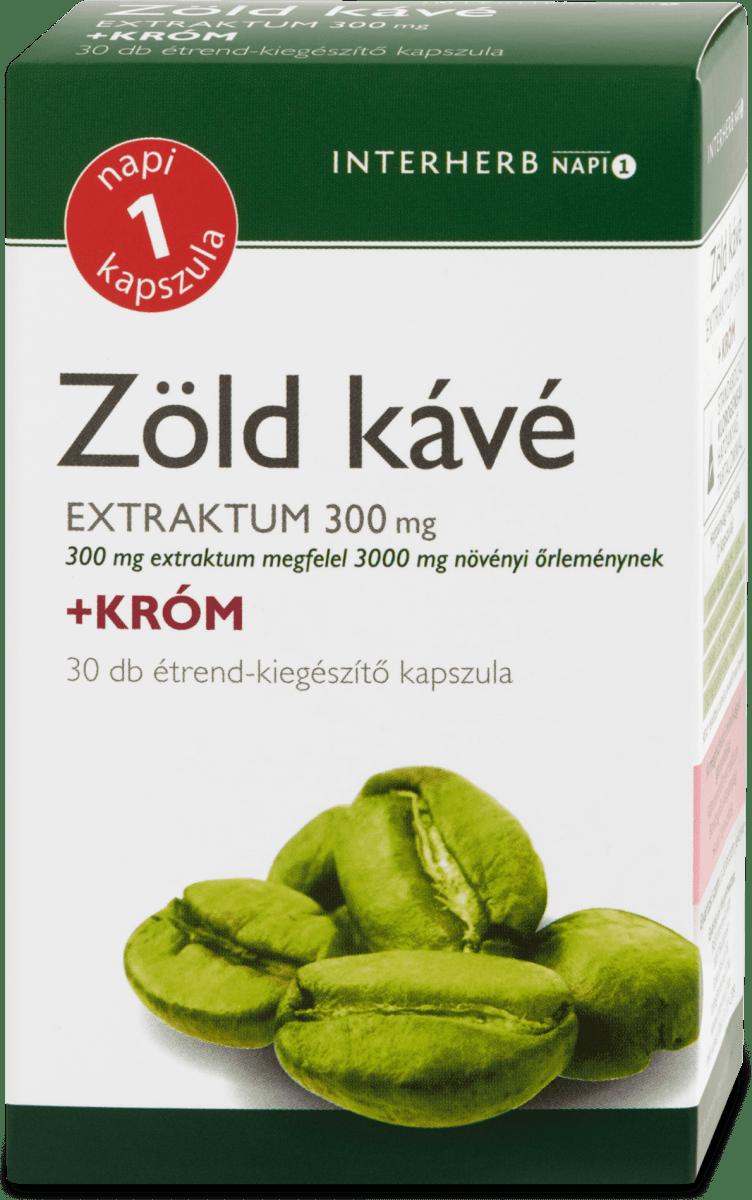 Dr. Herz Zöld kávé kapszula, 60 db | fx-konfetti.hu
