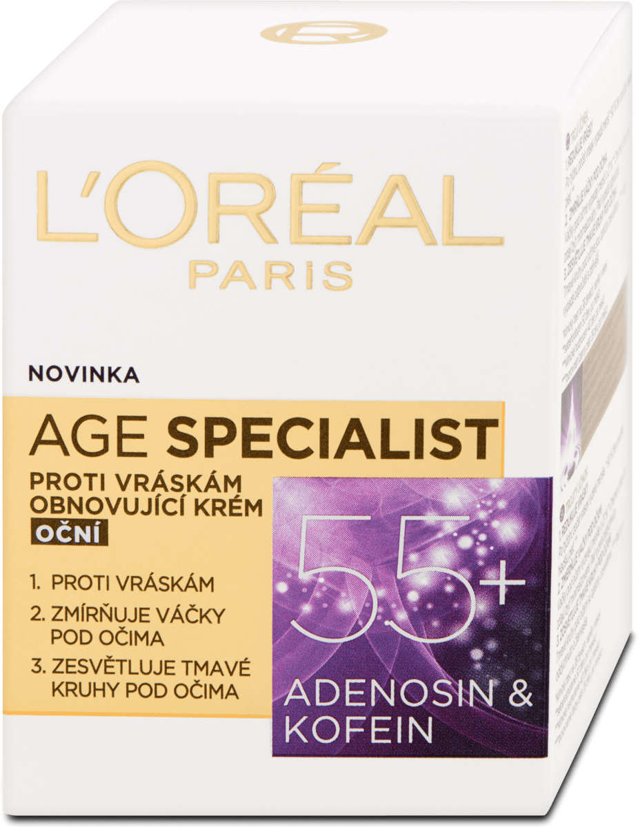 L'ORÉAL PARIS Obnovujúci očný krém proti vráskam Age..