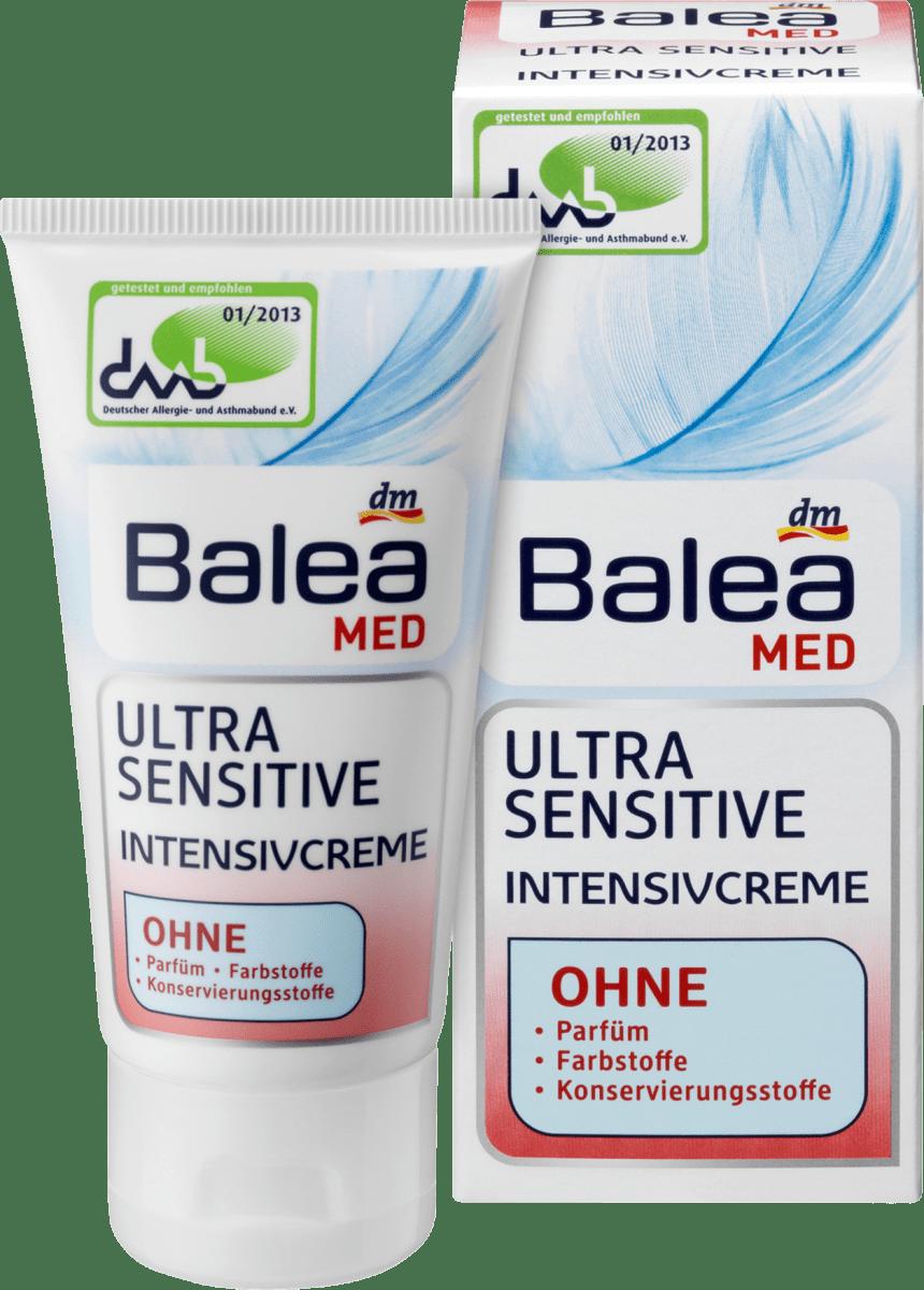 Balea MED Tagespflege Ultra Sensitive Intensivcreme, 50 ml
