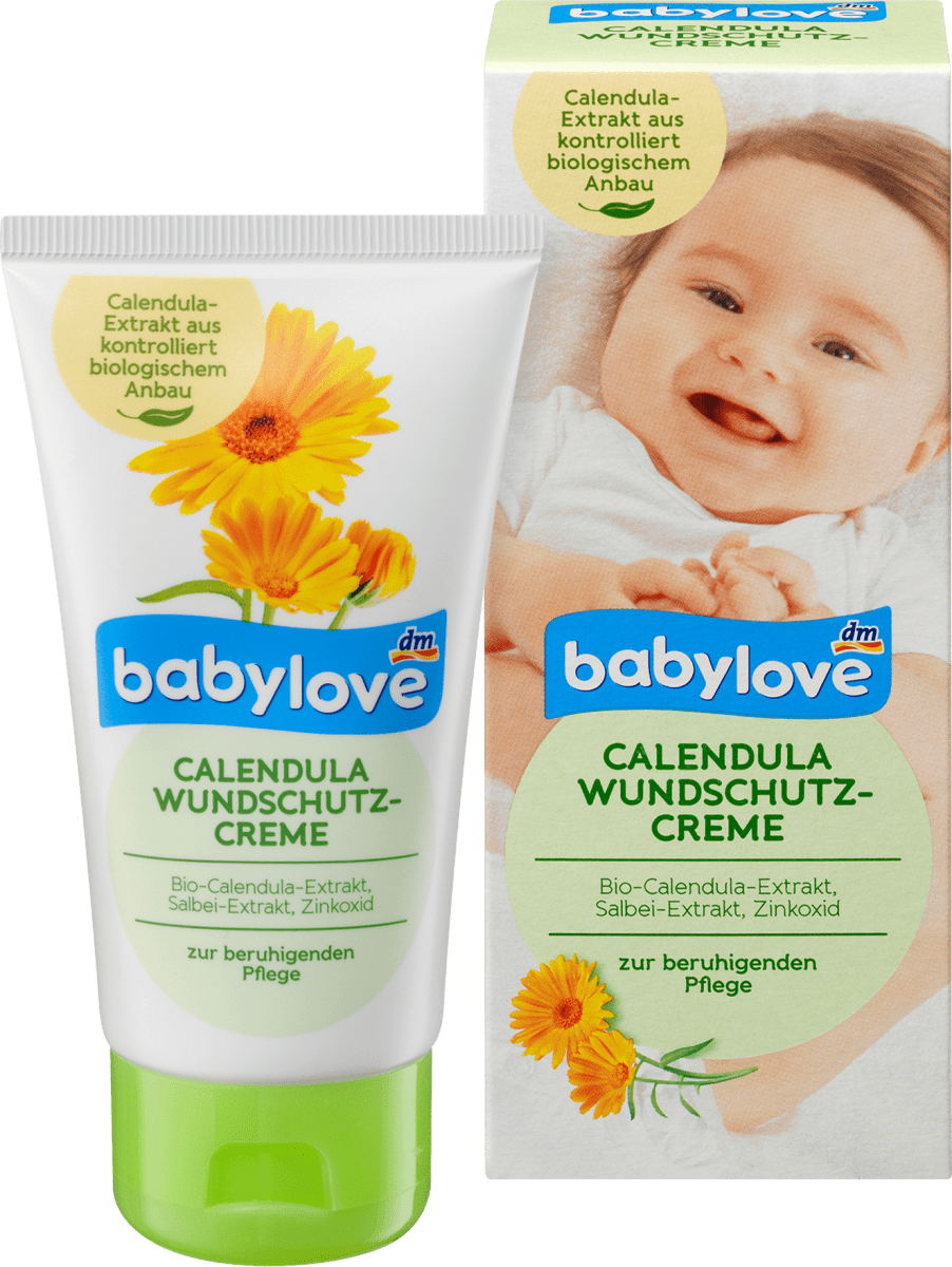 babylove Wundschutzcreme Calendula, 75 ml dauerhaft