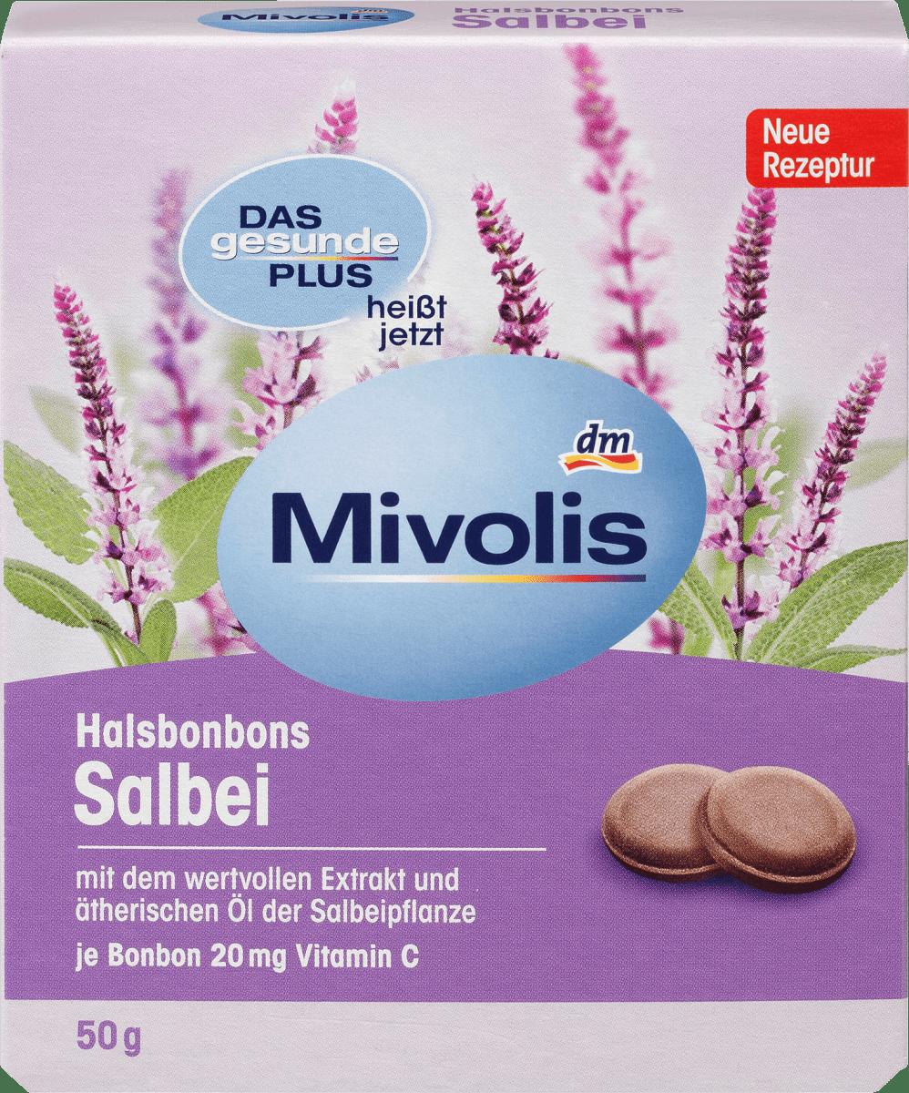 Mivolis Halsbonbons Salbei, 50 g dauerhaft günstig online