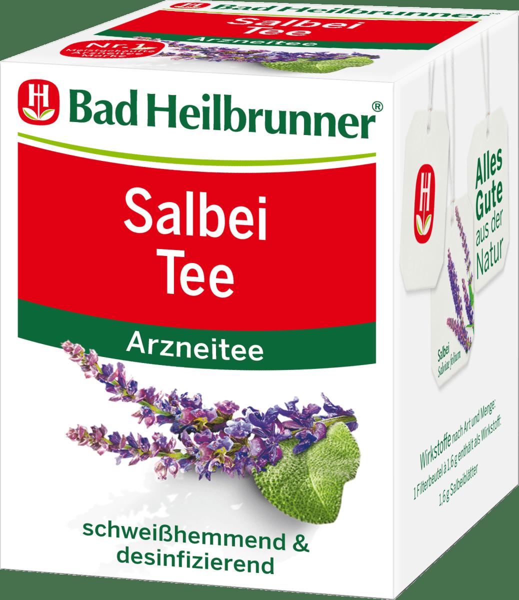 Bad Heilbrunner Arznei-Tee, Salbei (8 x 1,6 g), 12,8 g