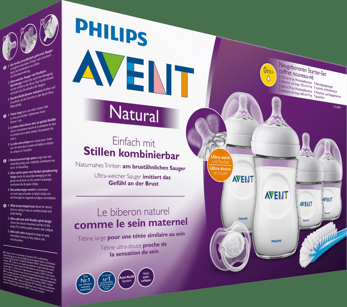 Philips AVENT Starter-Set MEGA-SET All-in-One mit viel Zubehör
