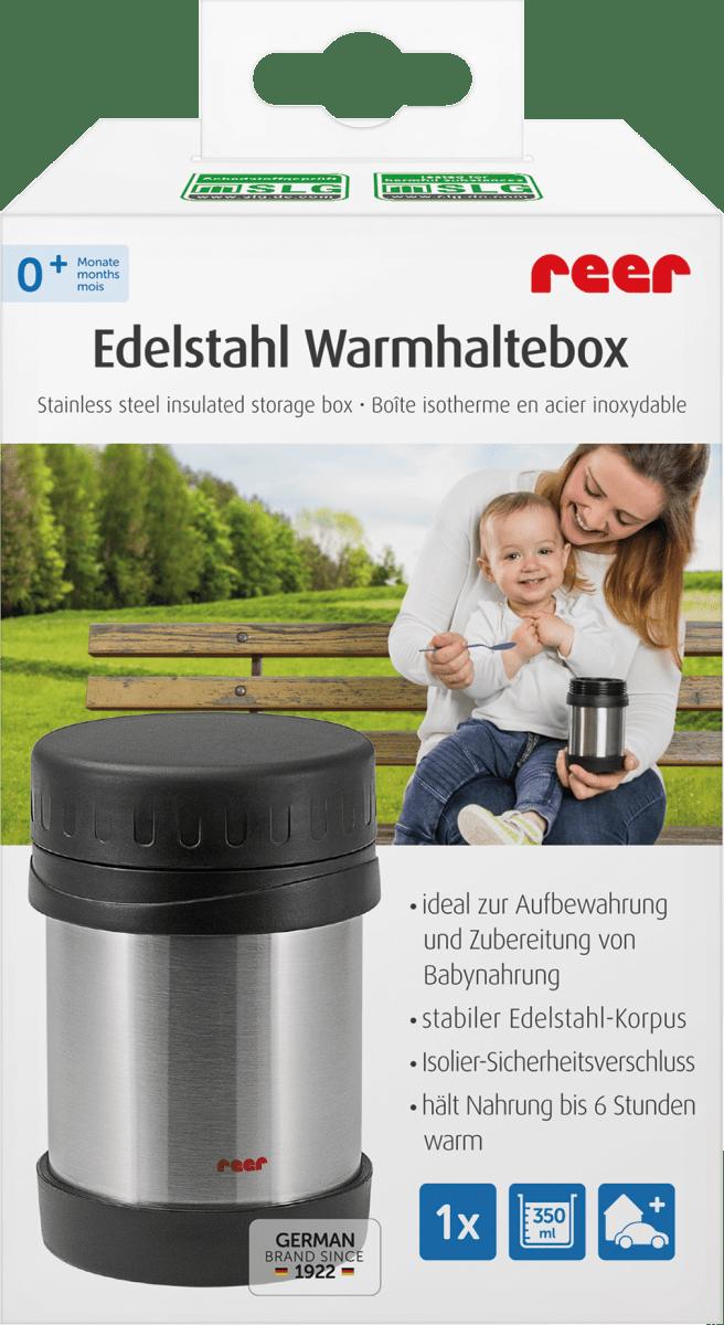 Thermobeh/älter Lunchbox BPA-Frei Thermobeh/älter F/ür Essen aus Edelstahl Isolierbeh/älter Thermogef/ä/ß Gef/ä/ß for Warme Spei/ßen Auslaufsicherer Warmhaltebeh/älter Box Thermobecher Babybrei,Rot,1200ml