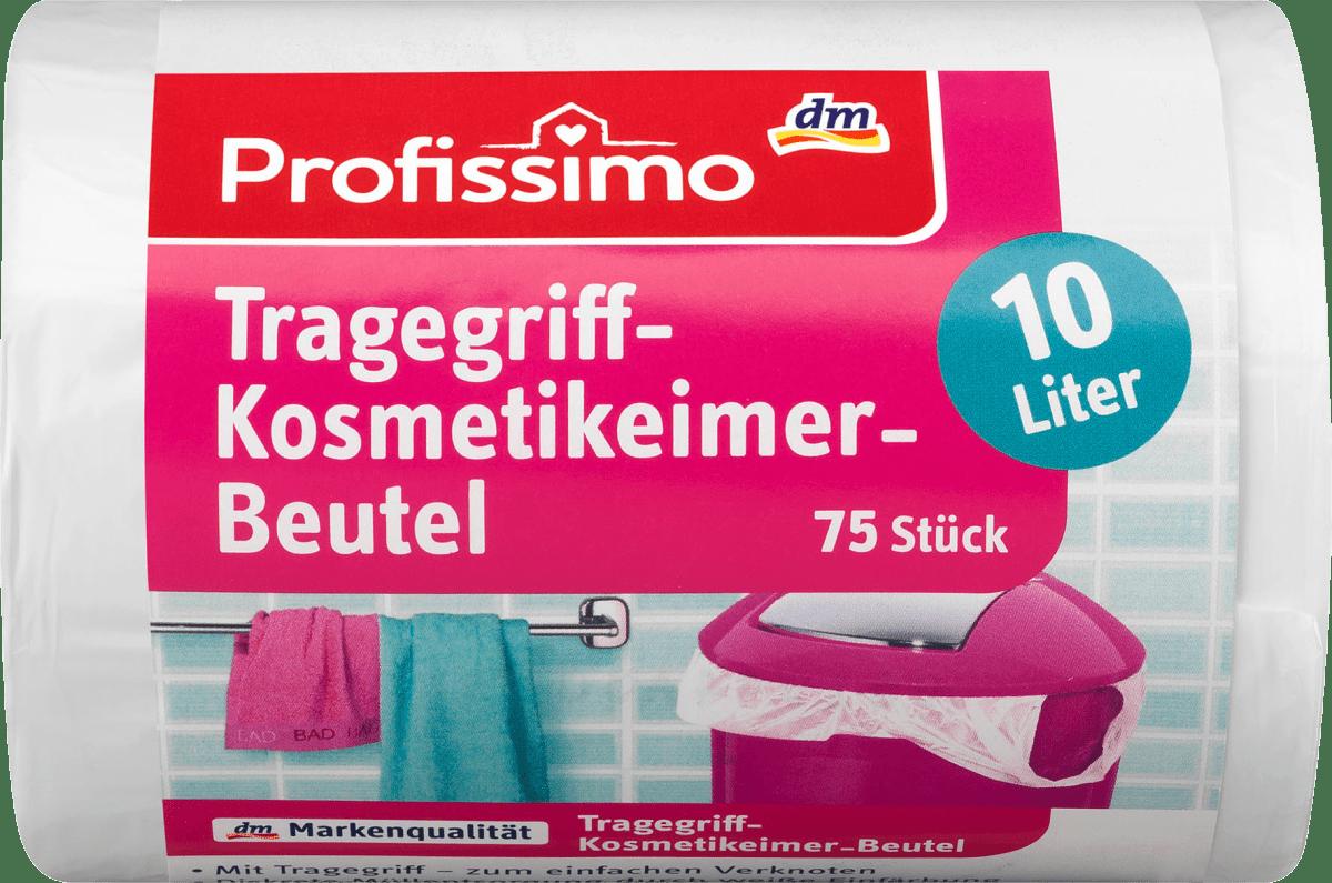 Profissimo Müllbeutel Kosmetikeimer Mit Tragegriff 10 L 75 St Dauerhaft Günstig Online Kaufen Dm De