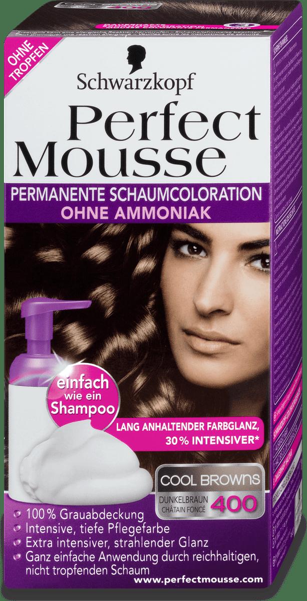 Schwarzkopf Perfect Mousse Permanente Schaumcoloration
