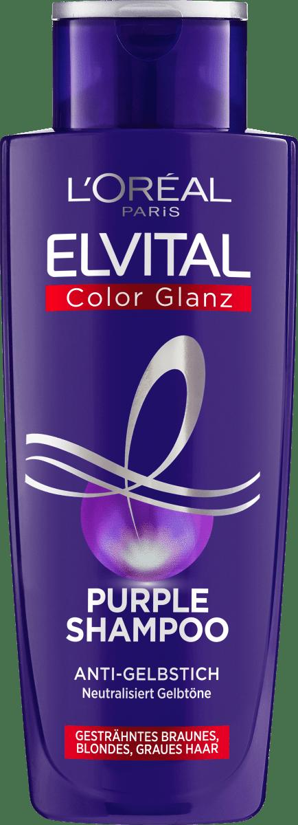 Elvital Shampoo Color Glanz Purple 200 Ml Dauerhaft Gunstig Online Kaufen Dm De