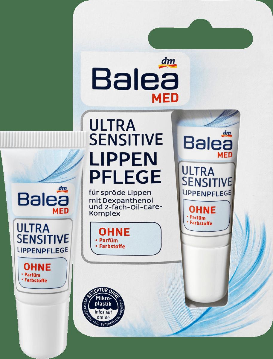 Balea MED Lippenpflege Ultra Sensitive, 9 ml dauerhaft