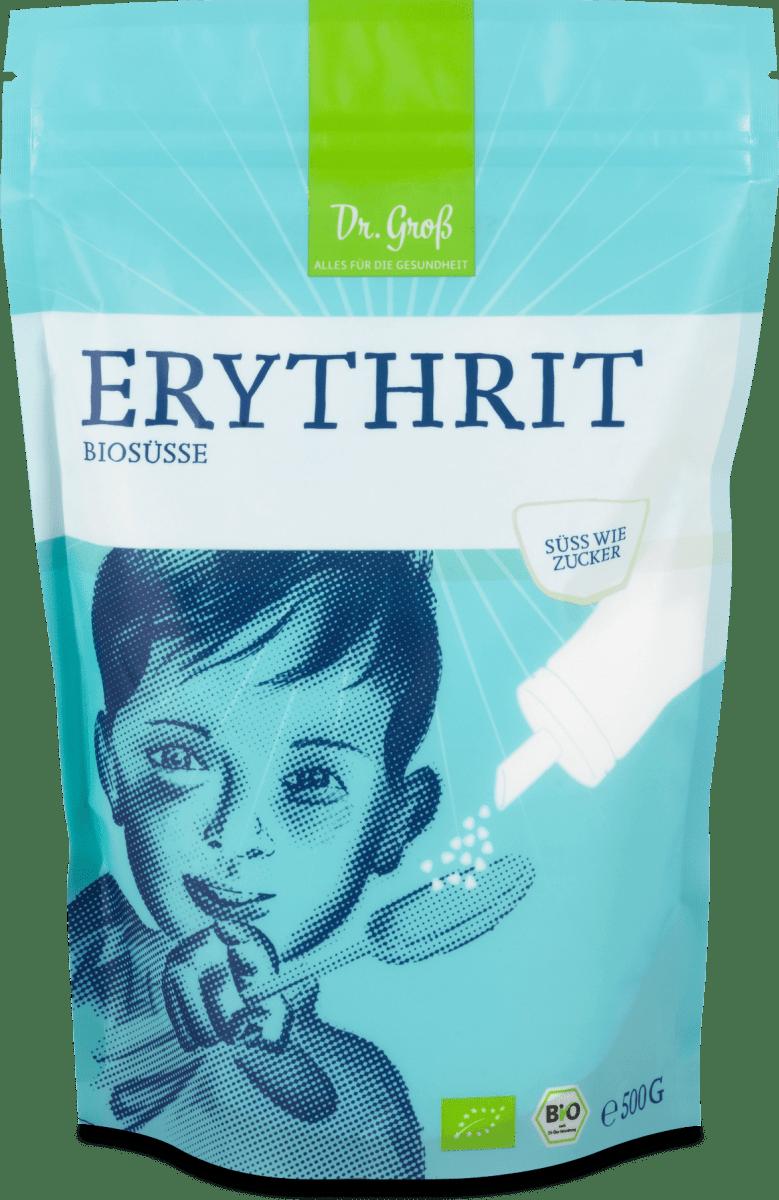 Dr. Groß Erythrit Biosüße, 500 g   dm.at