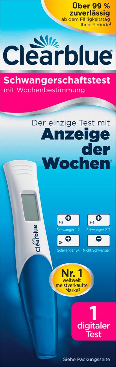 Schwangerschaftstest clearblue negativer Clearblue Schnell