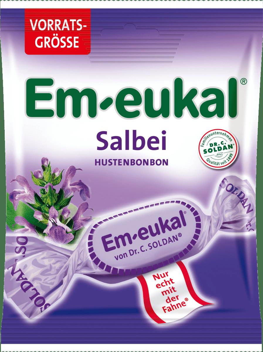 Em-eukal Husten-Bonbon, Salbei, 150 g dauerhaft günstig