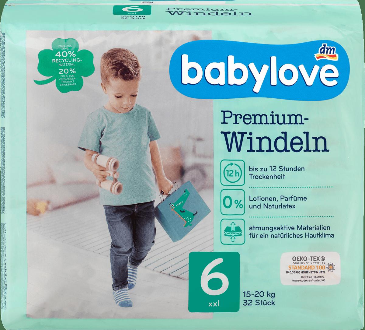 babylove windeln premium gr 6 xxl 1520 kg 32 st