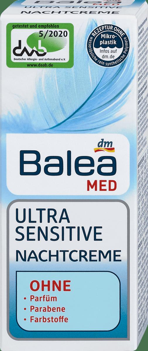 Balea MED Ultra Sensitive Nachtcreme, 50 ml   dm.at