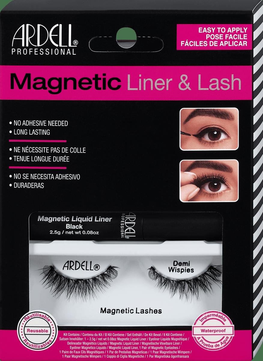Künstliche Wimpern Magnetic Liner & Lash Demi Wispies, 30 Paar