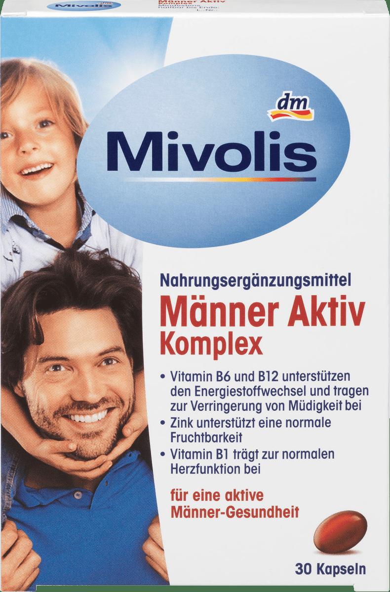 Mivolis Männer Aktiv Komplex Kapseln 30 St 26 G Dauerhaft Günstig Online Kaufen Dm De