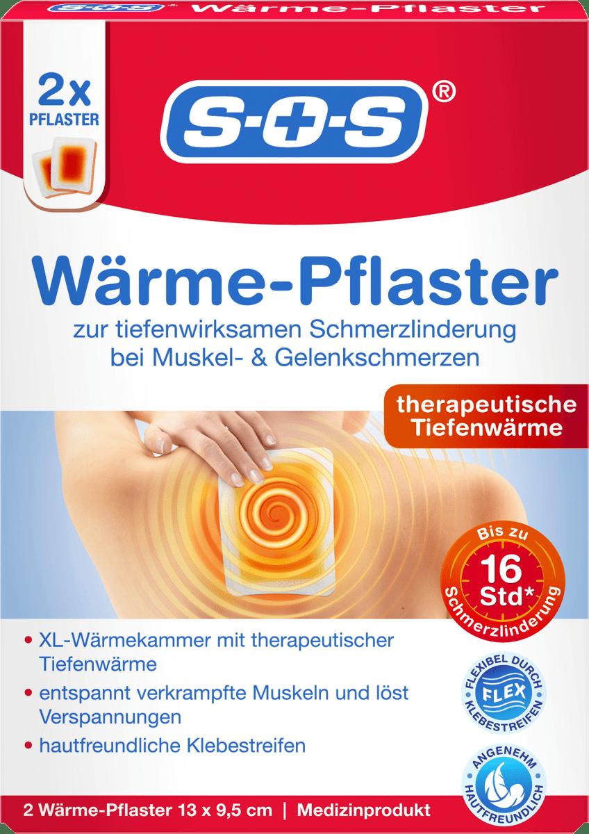 SOS Wärmepflaster, 2 St dauerhaft günstig online kaufen