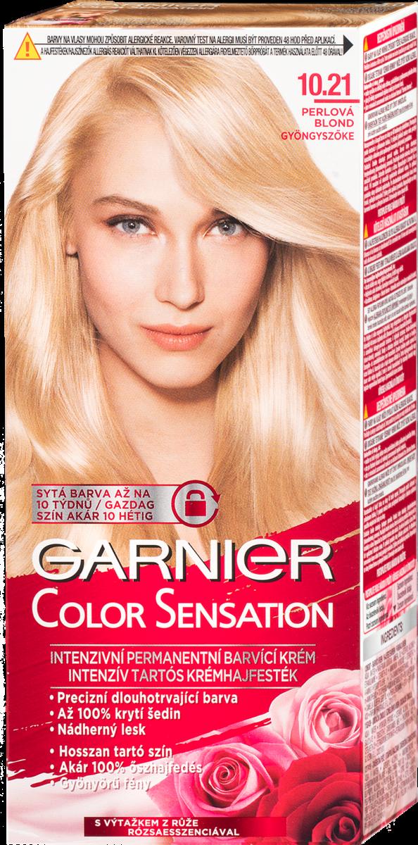 Schwarzkopf Gliss Color barva na vlasy popelavě plavý 10