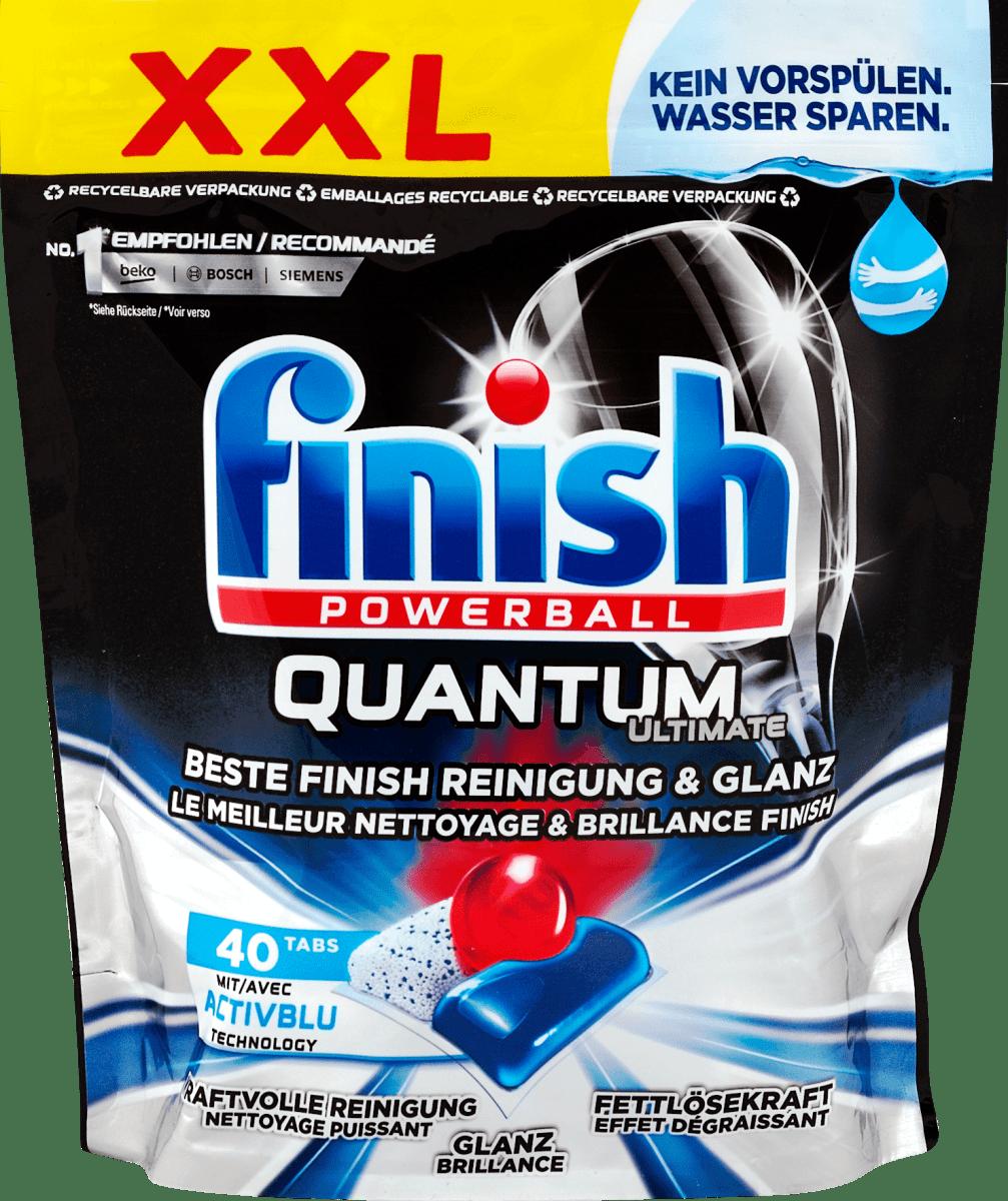 finish powerball quantum ultimate geschirrspüler tabs xxl