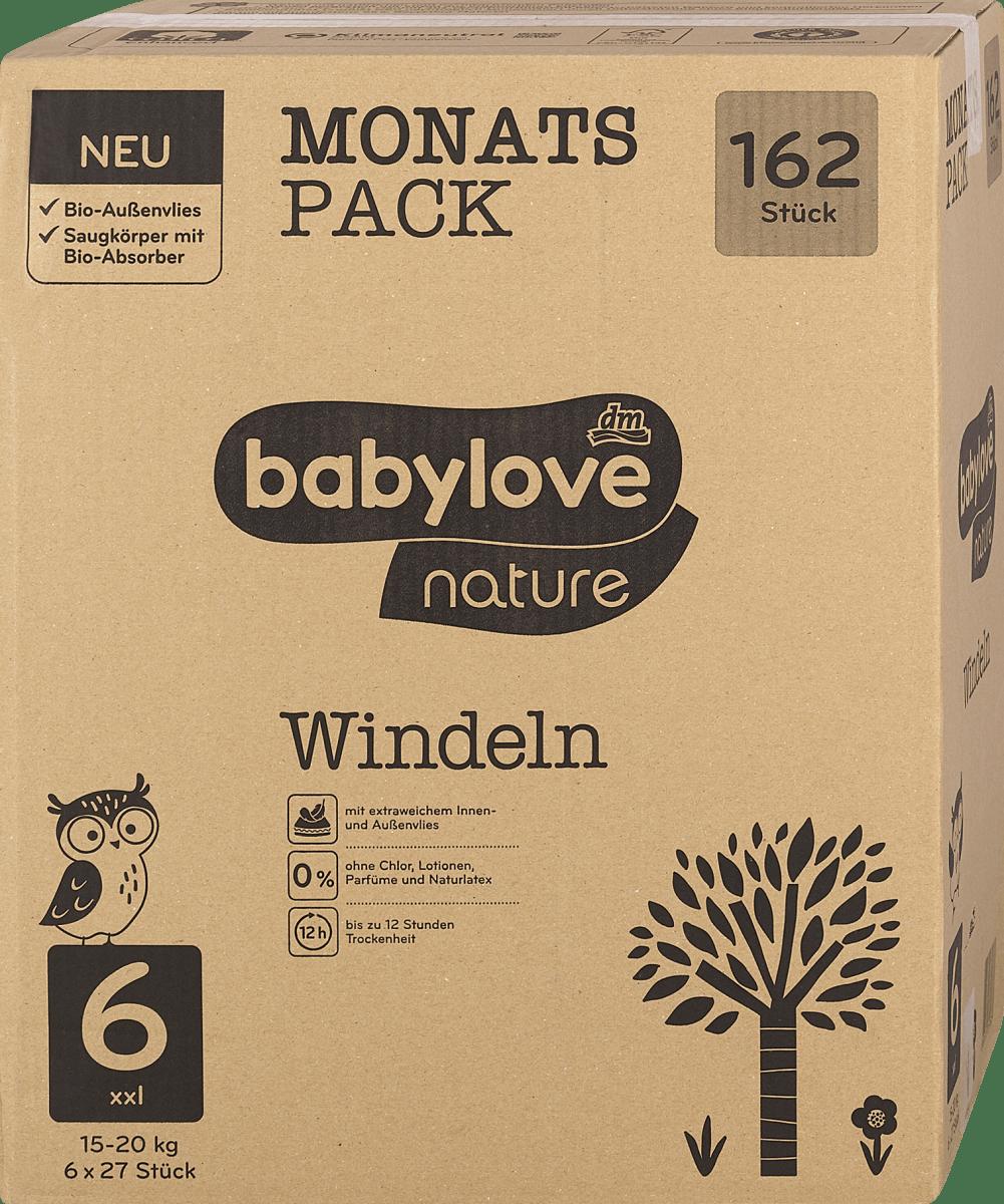 babylove nature Ökowindeln gr 6 xxl 1520 kg
