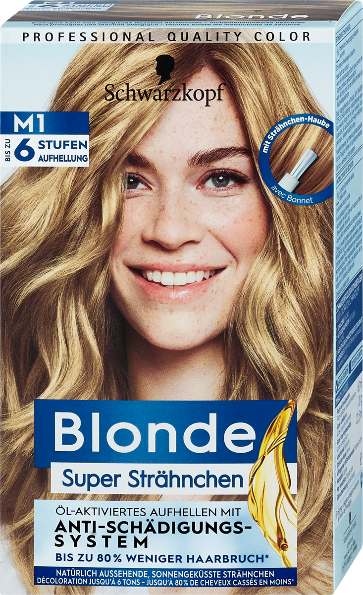 Strähnen haare blonde Excellent Braune