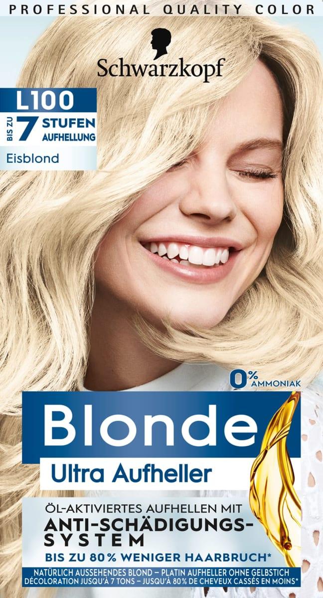 Bekommen auge blondierung ins Blondierung ins