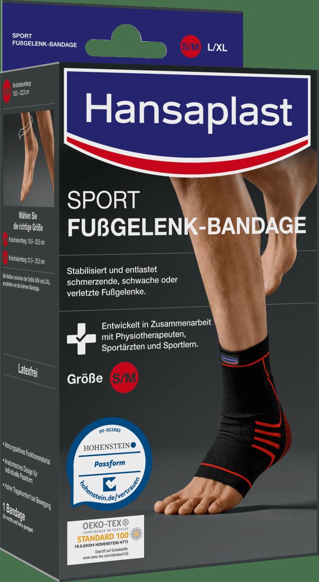 Fussbandage Fußgelenkbandage Knöchelstütze Sport Bandage Sprunggelenk Verband DE