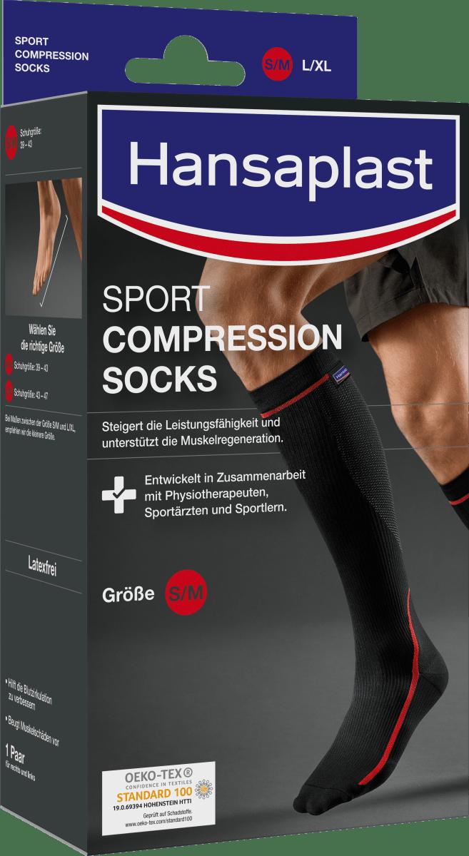 Kompressionsstrümpfe Trombosestruempfe Kompressionssocken Unisex Sport 1-8Paar