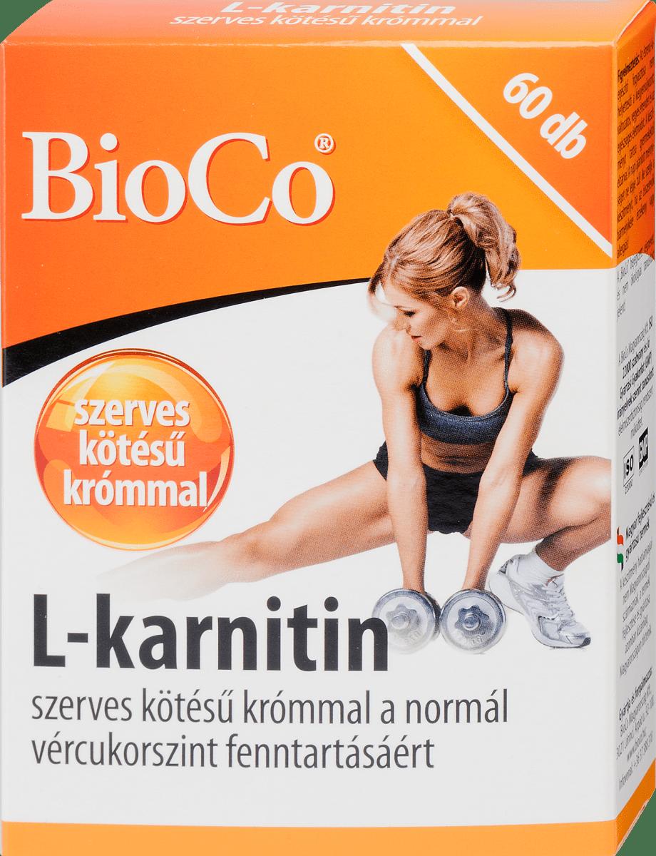 BEST Acetil-L-karnitin kapszula Étrend-kiegészítő