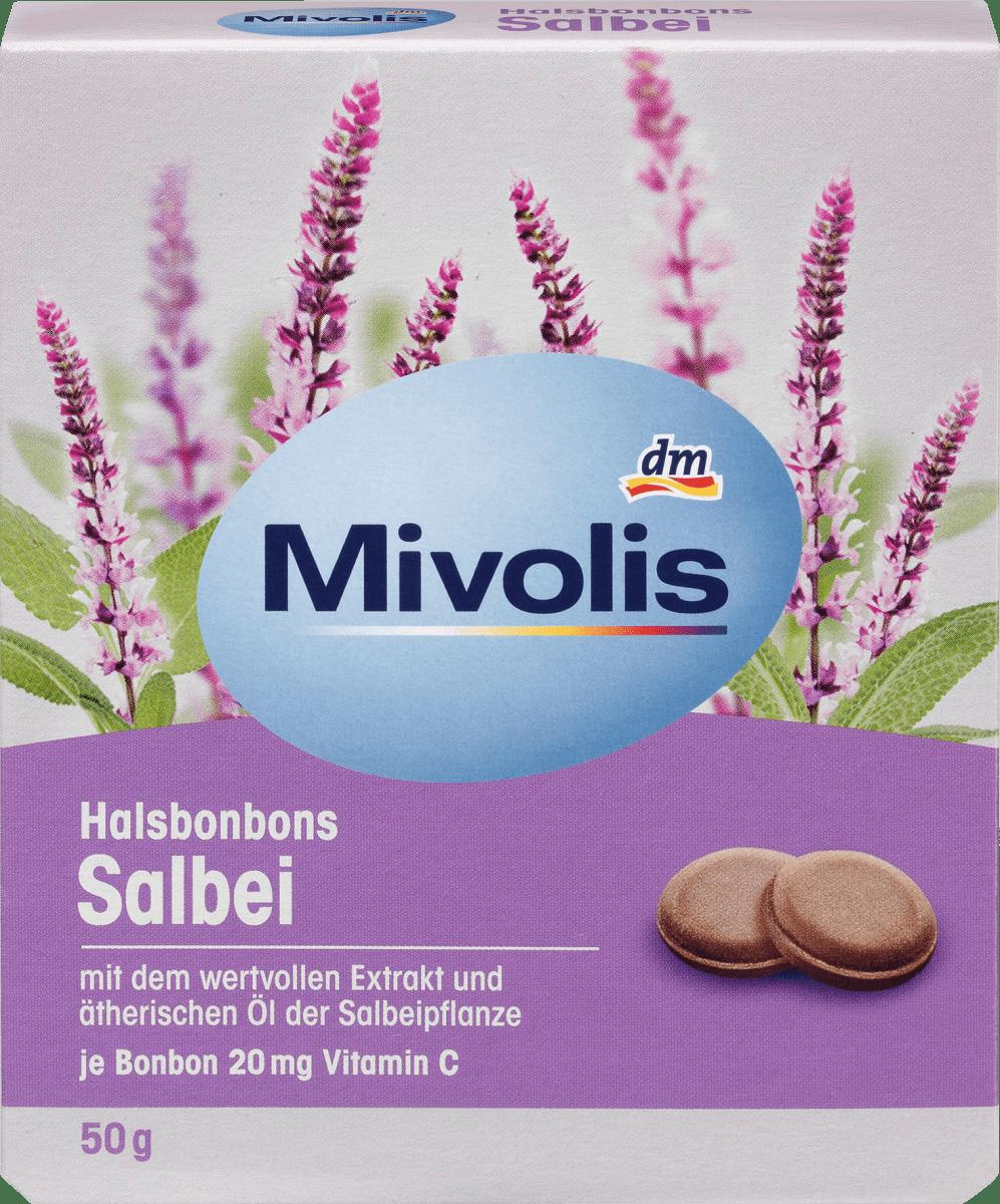 Halsbonbons Salbei, 50 g