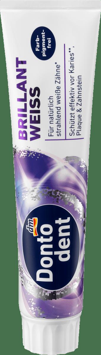 Zahnpasta Brillant weiss, 125 ml