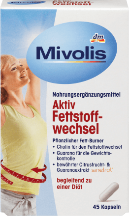 Mivolis Aktiv Fettstoffwechsel Kapseln 45 St 27 G Dauerhaft Günstig Online Kaufen Dm De