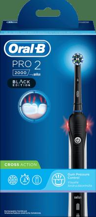 Oral B Elektrische Zahnburste Pro 2 Black 1 St Dauerhaft Gunstig Online Kaufen Dm De