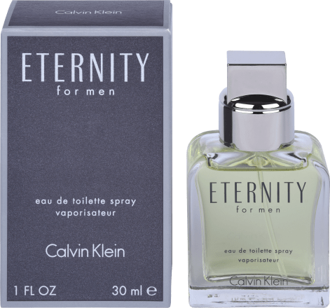 Calvin Klein Eau De Toilette Eternity For Men 30 Ml Dauerhaft Günstig Online Kaufen Dm De