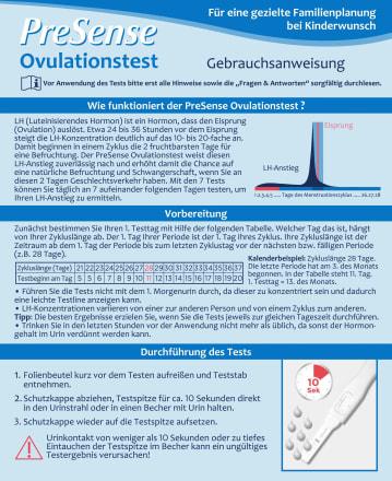 Ovulationstest Presense