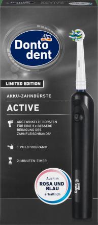 Dontodent Elektrische Zahnburste Active 1 St Dauerhaft Gunstig Online Kaufen Dm De
