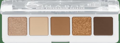 Catrice Paletka očných tieňov 5 In A Box Mini - 010 Golden