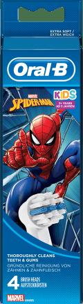 Oral B Aufsteckbursten Kinder Spiderman 4 St Dauerhaft Gunstig Online Kaufen Dm De