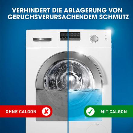 Waschmaschine anwendung tabs calgon 3in1 Power