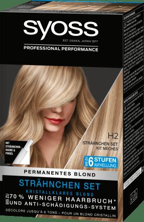 Blonde strähnen oder komplett färben