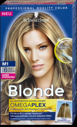 Schwarzkopf Blonde Super Strähnchen Aufheller - Nr. M1, 1
